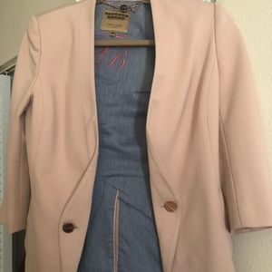 Beautiful blush blazer